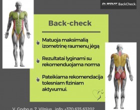 BACK CHECK TYRIMAS